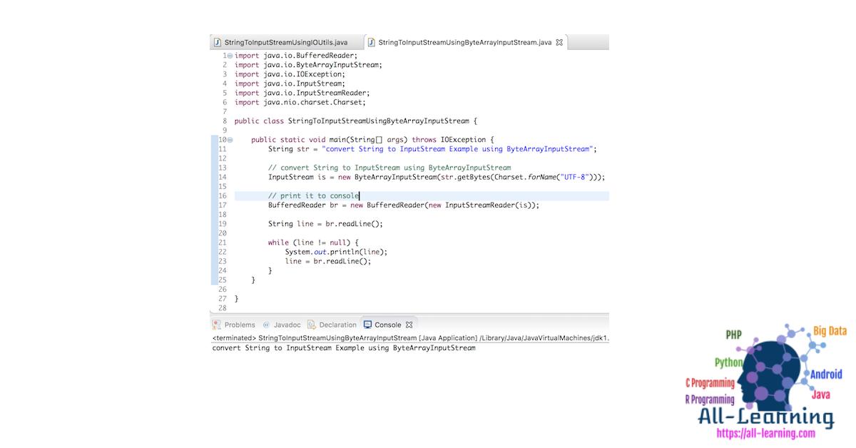 Java-String-to-InputStream