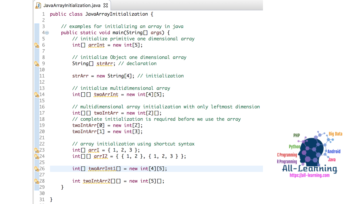how-to-initialize-an-array-in-java