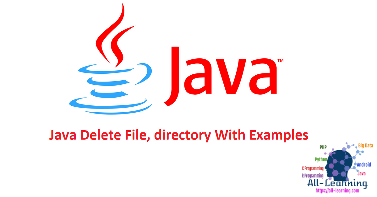 Java Delete File, directory With Examples