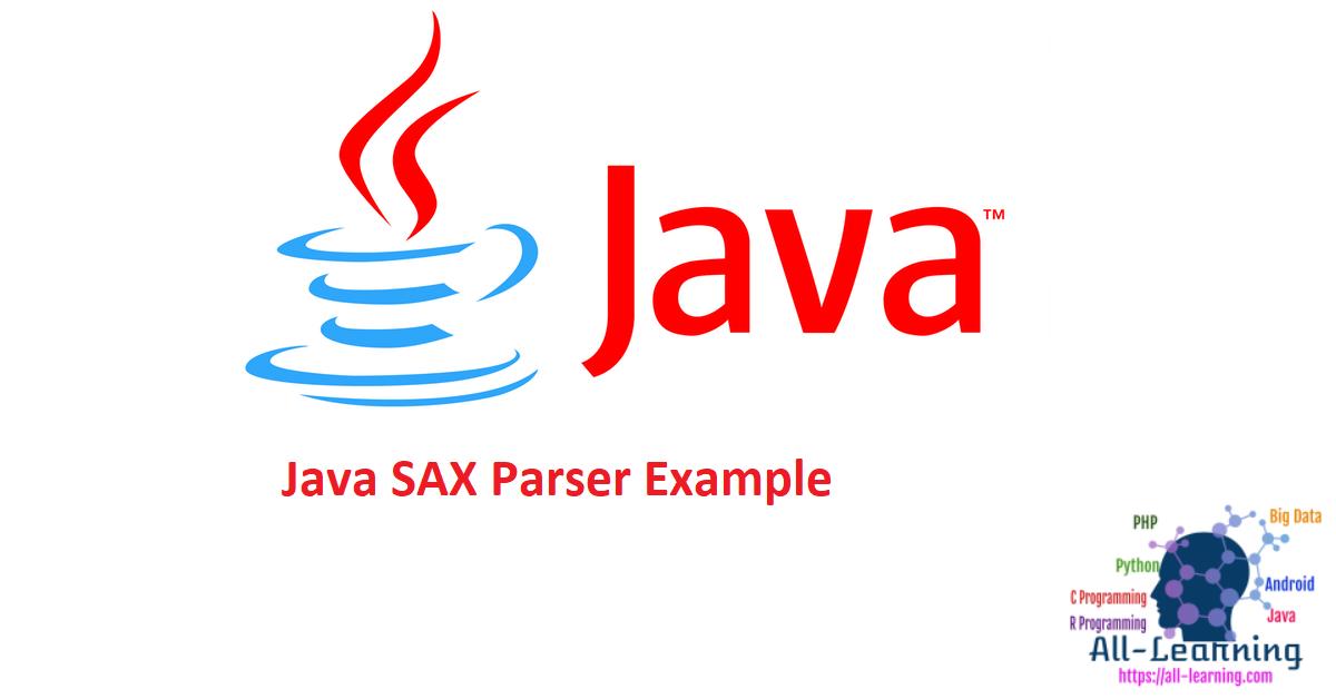 Java SAX Parser Example