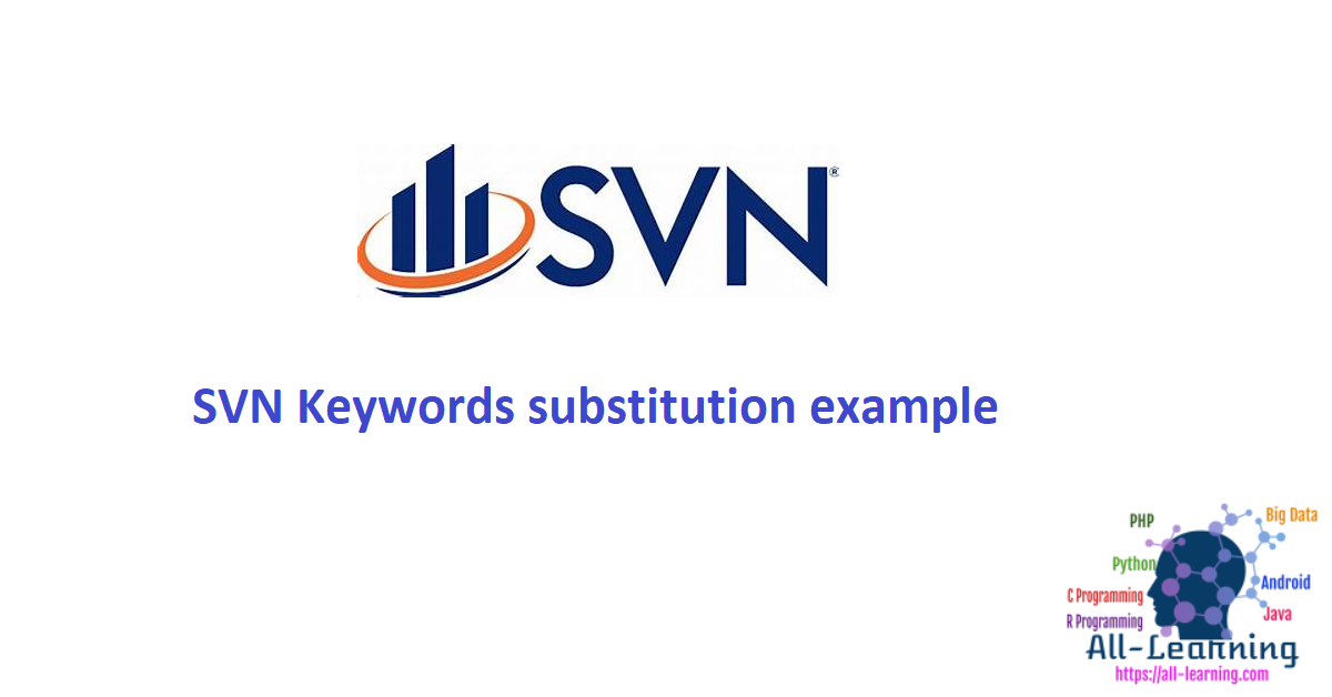 SVN Keywords substitution example