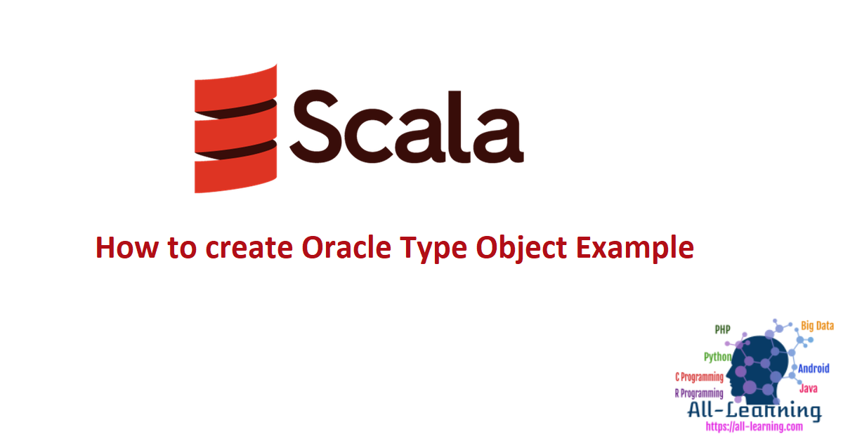 How to create Oracle Type Object Example