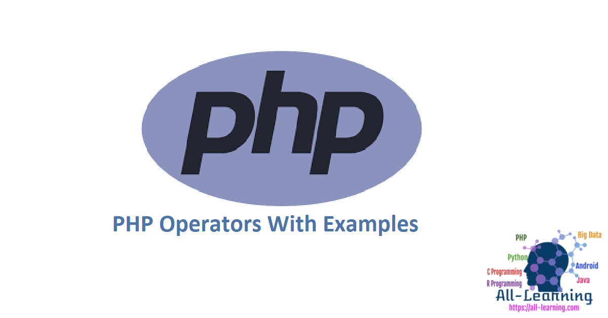 PHP Operators With Examples