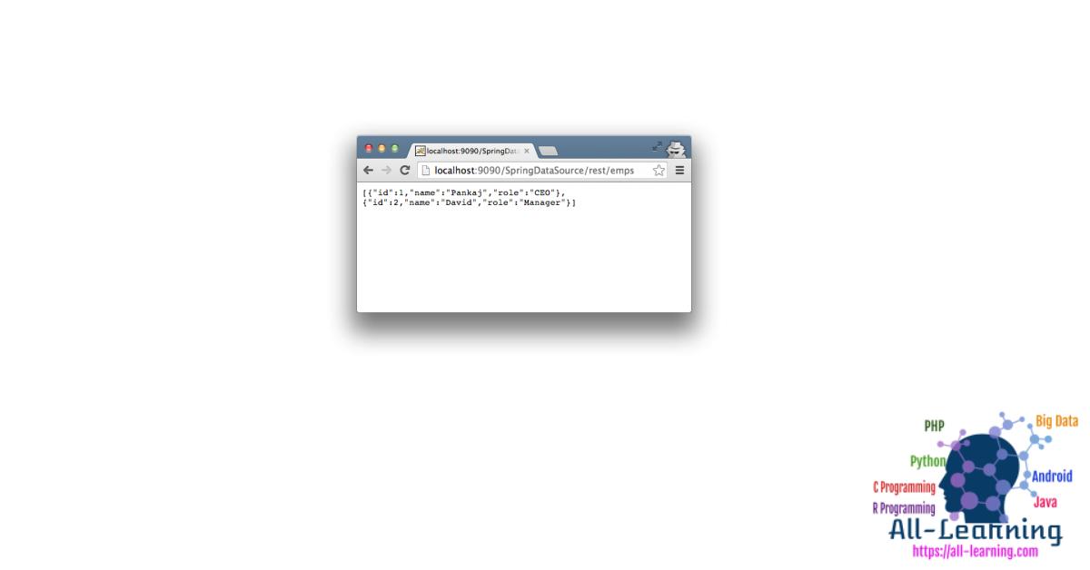Spring-DataSource-JNDI-Tomcat-Example-Project