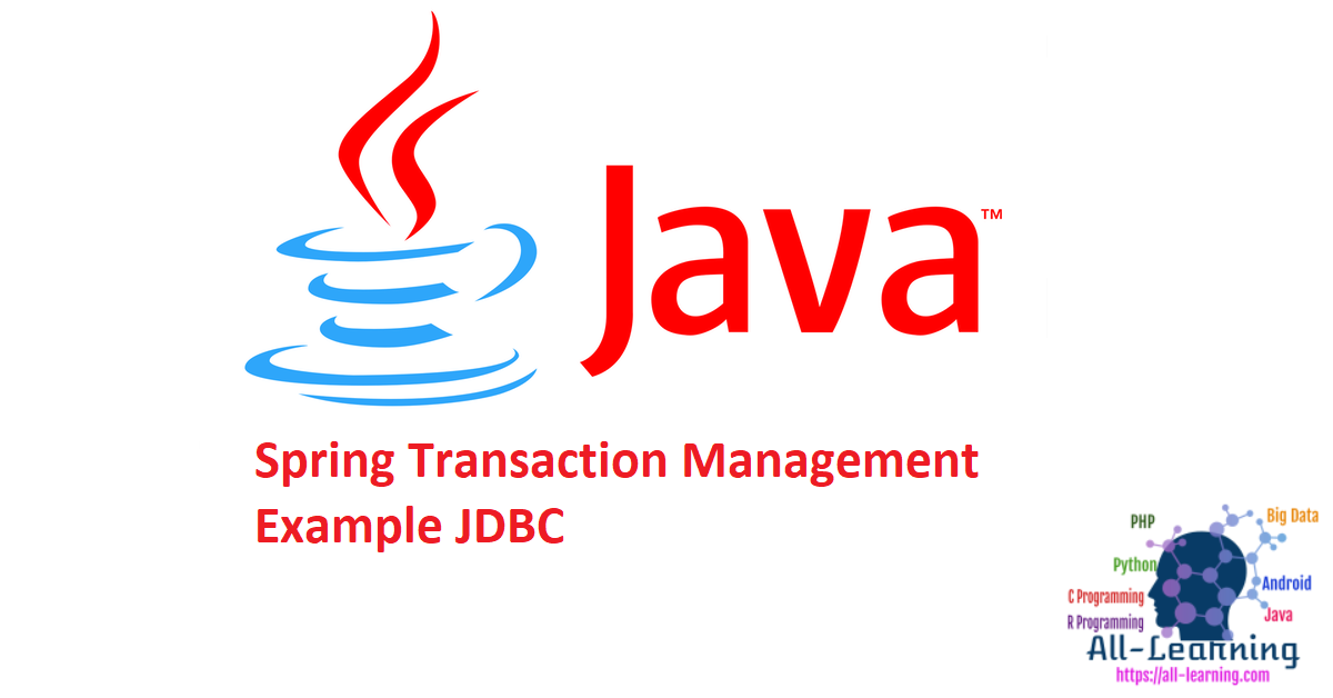 Spring Transaction Management Example JDBC