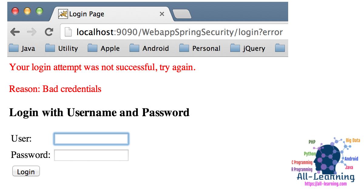 Spring-Security-ignore
