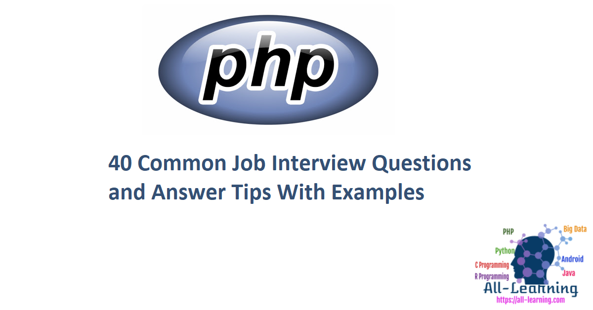 40 Common Job Interview Questions and Answer Tips With Examples