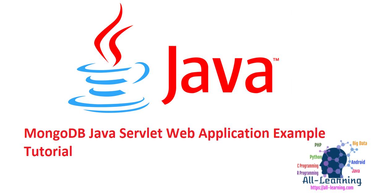 MongoDB Java Servlet Web Application Example Tutorial