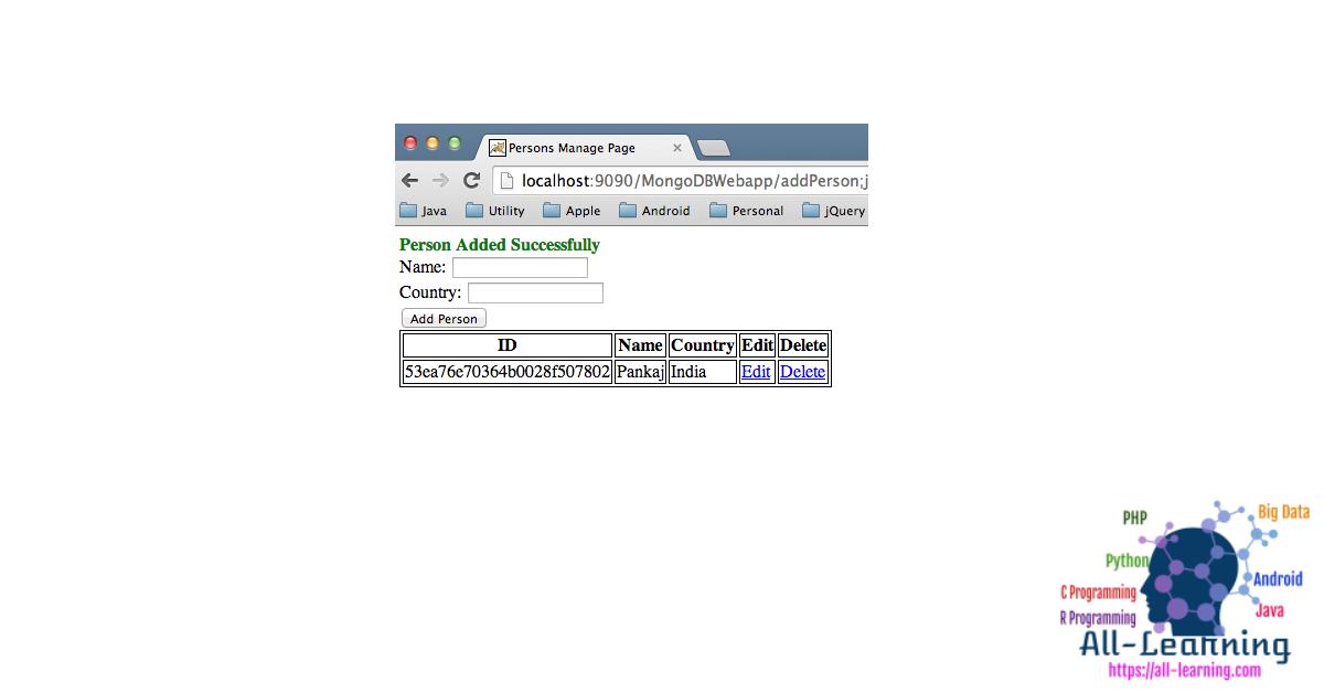 MongoDB-Web-Application-Create