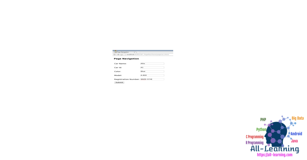 JSF_Page_Navigation_1