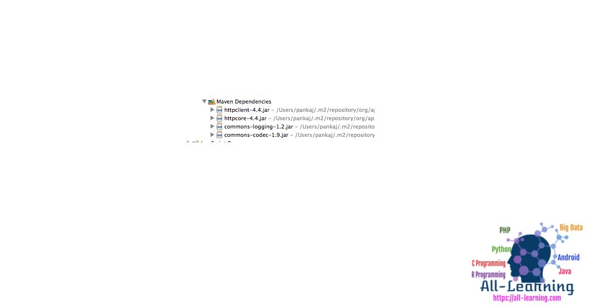 Apache-HttpClient-Maven-Dependencies