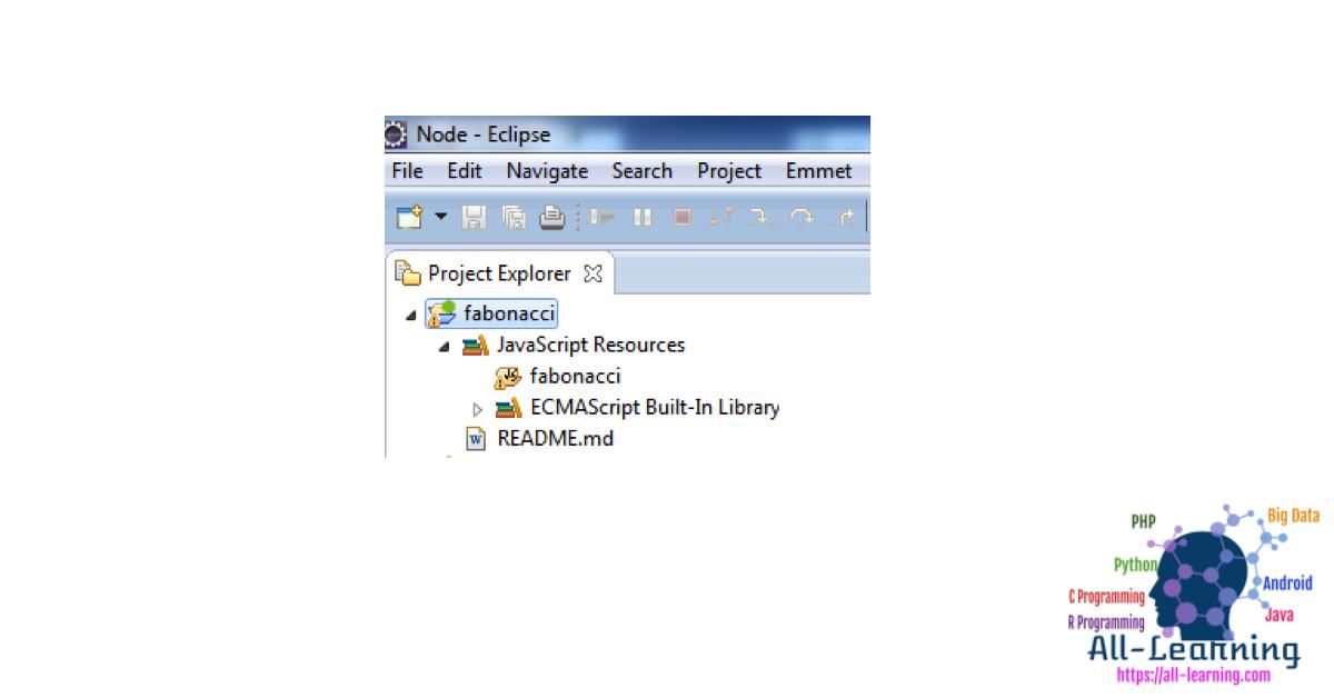 New-Node.js-Eclipse-Project