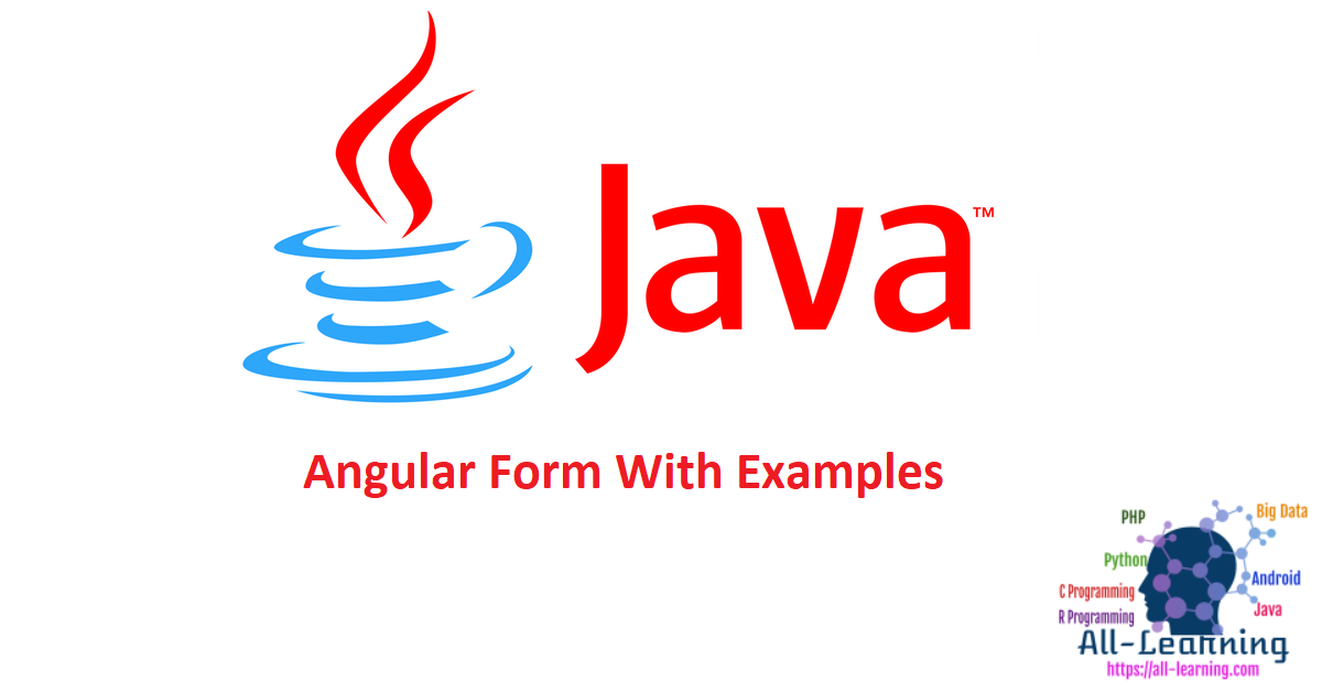 Angular Form With Examples
