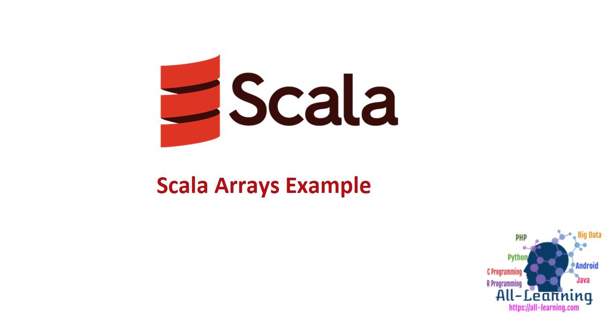 Scala Arrays Example