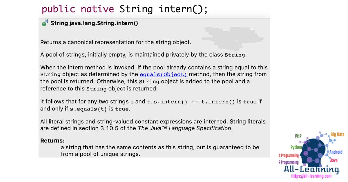 java-string-intern