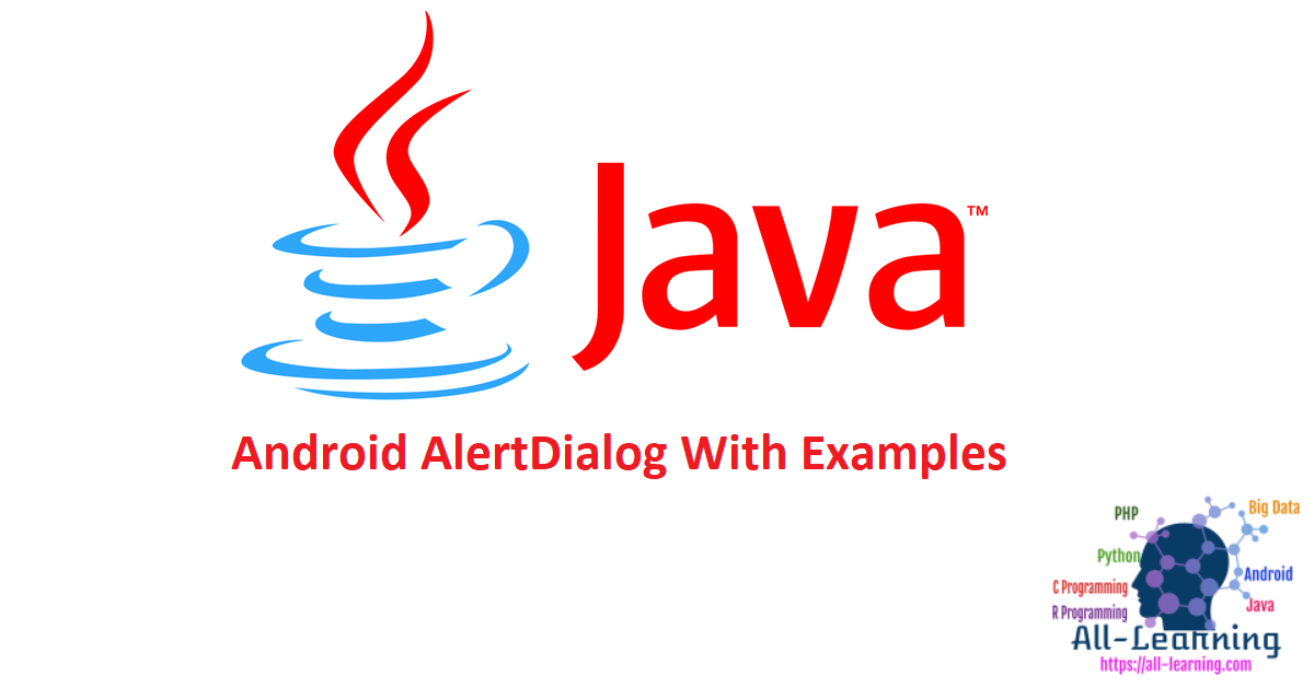 Android AlertDialog With Examples