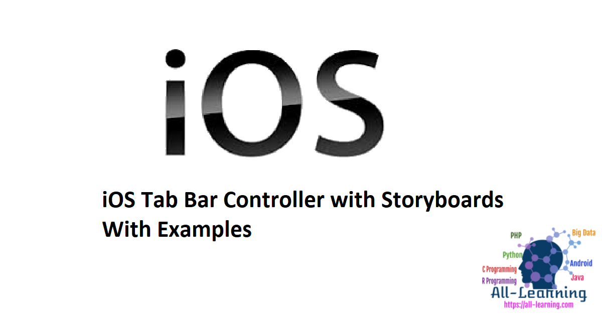 iOS Tab Bar Controller with Storyboards With Examples