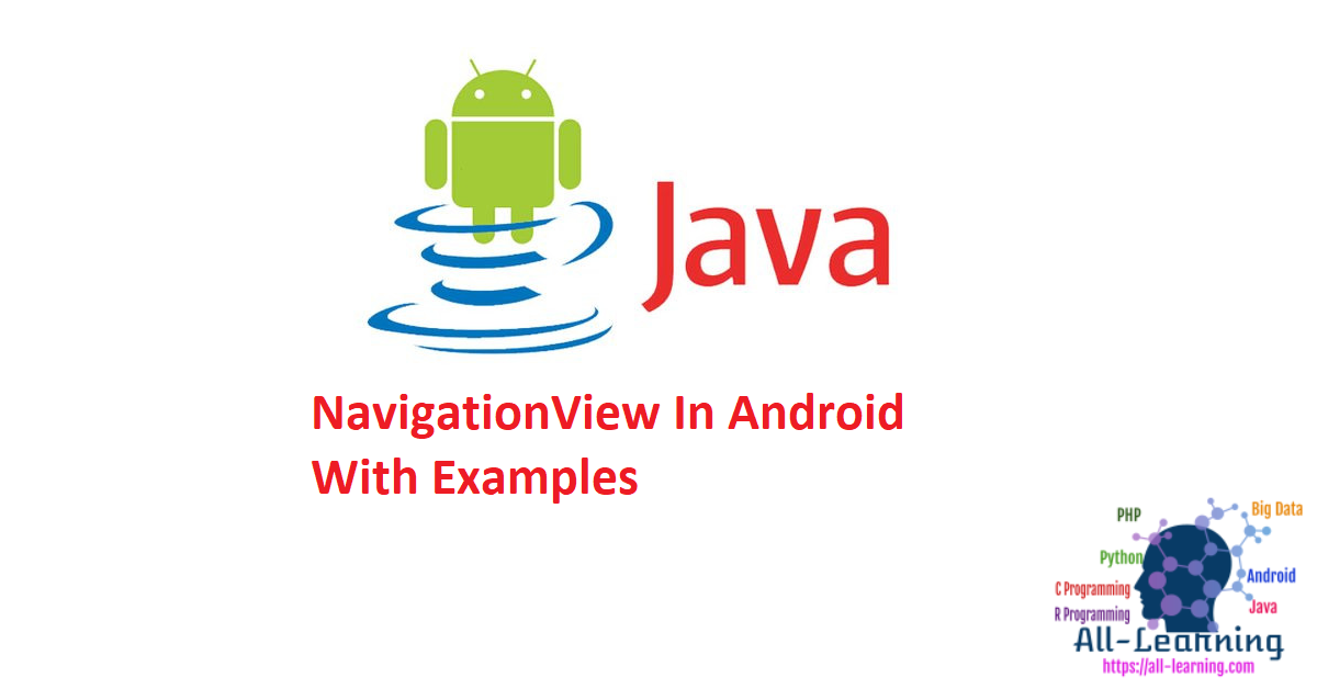 NavigationView In Android With Examples