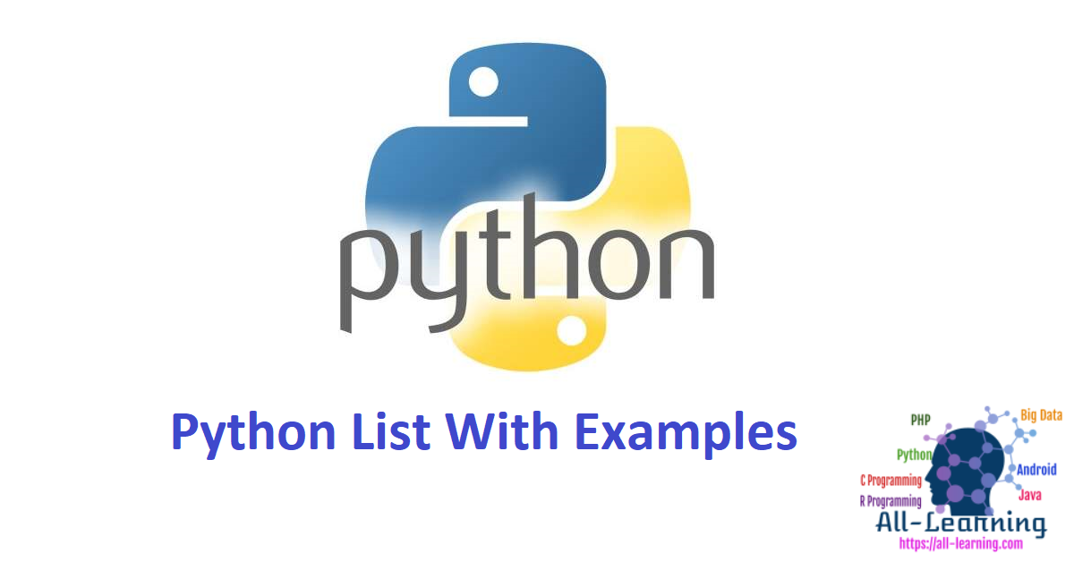 Python List With Examples