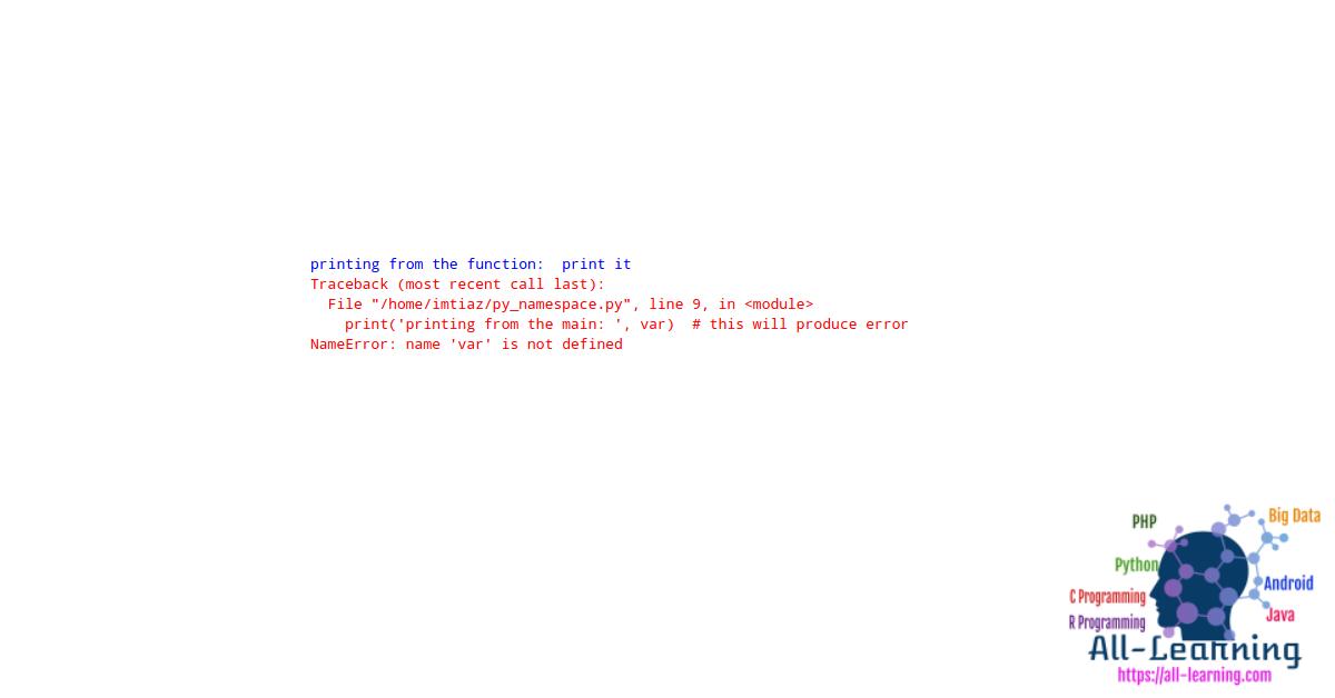 python-namespace-error
