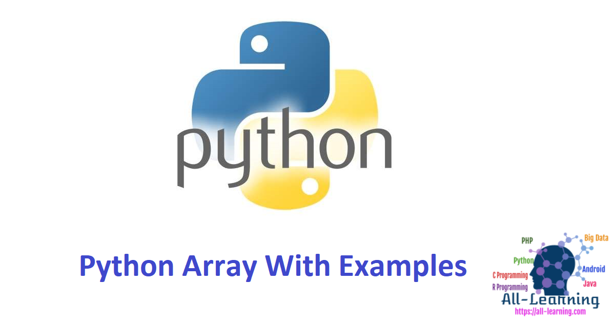 Python Array With Examples