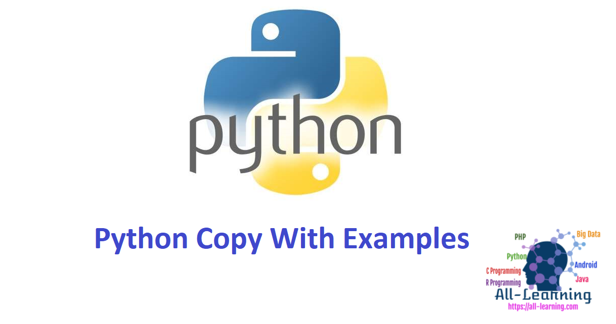 Python Copy With Examples