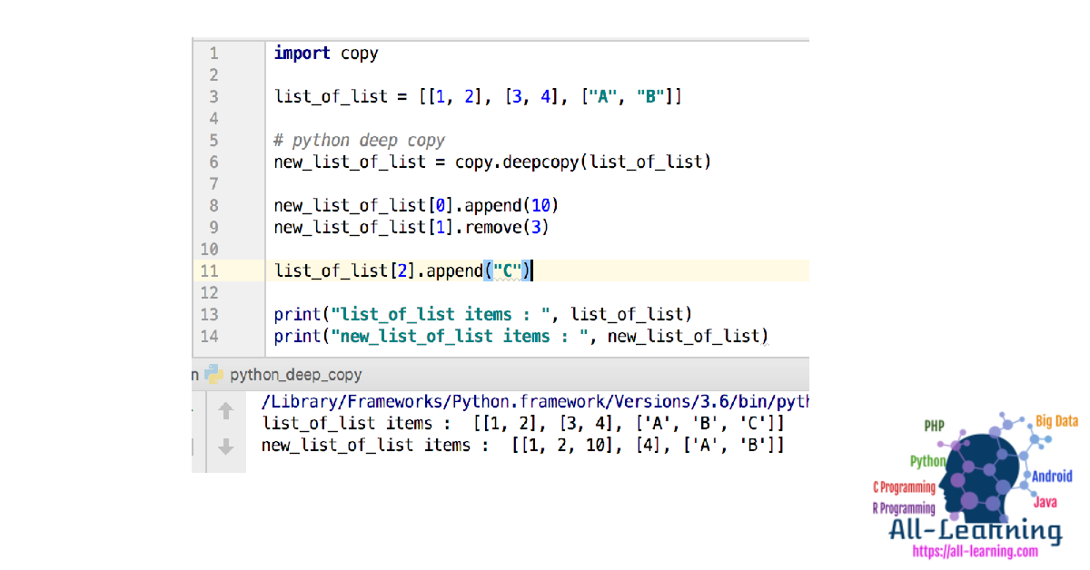Python Copy