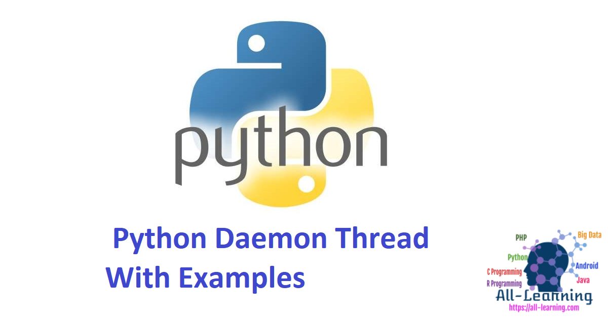 Python Daemon Thread With Examples