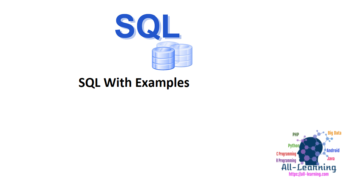SQL With Examples