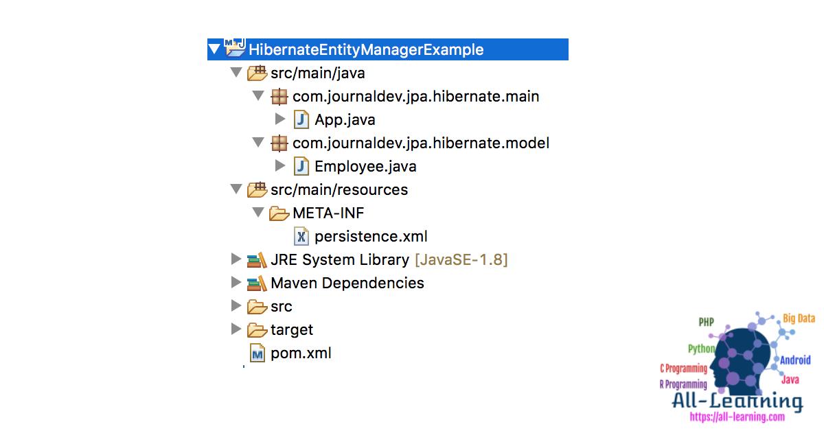 jpa-hibernate-entitymanager-example
