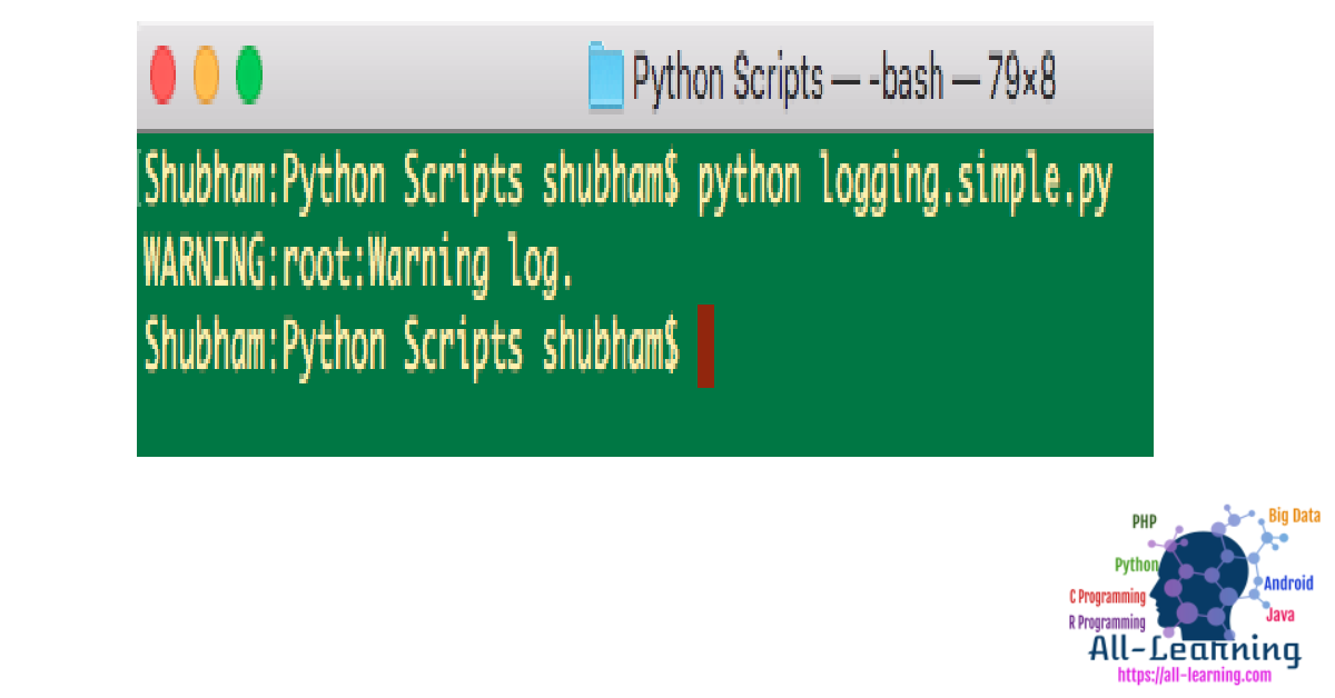 python-logging configuration file