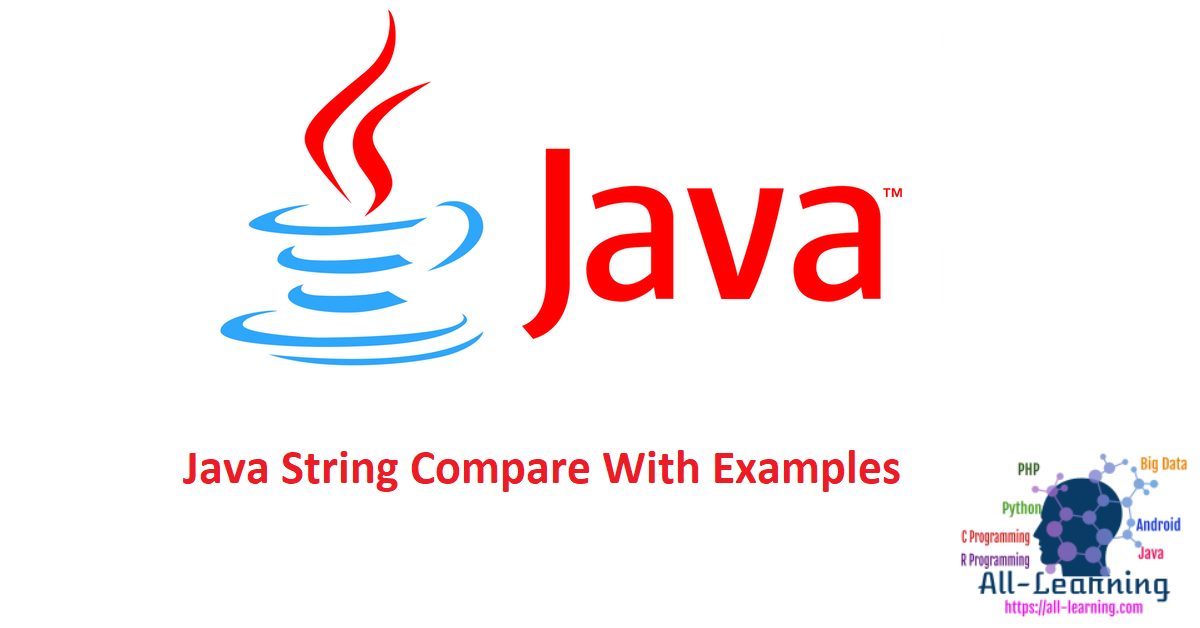 Java String Compare With Examples