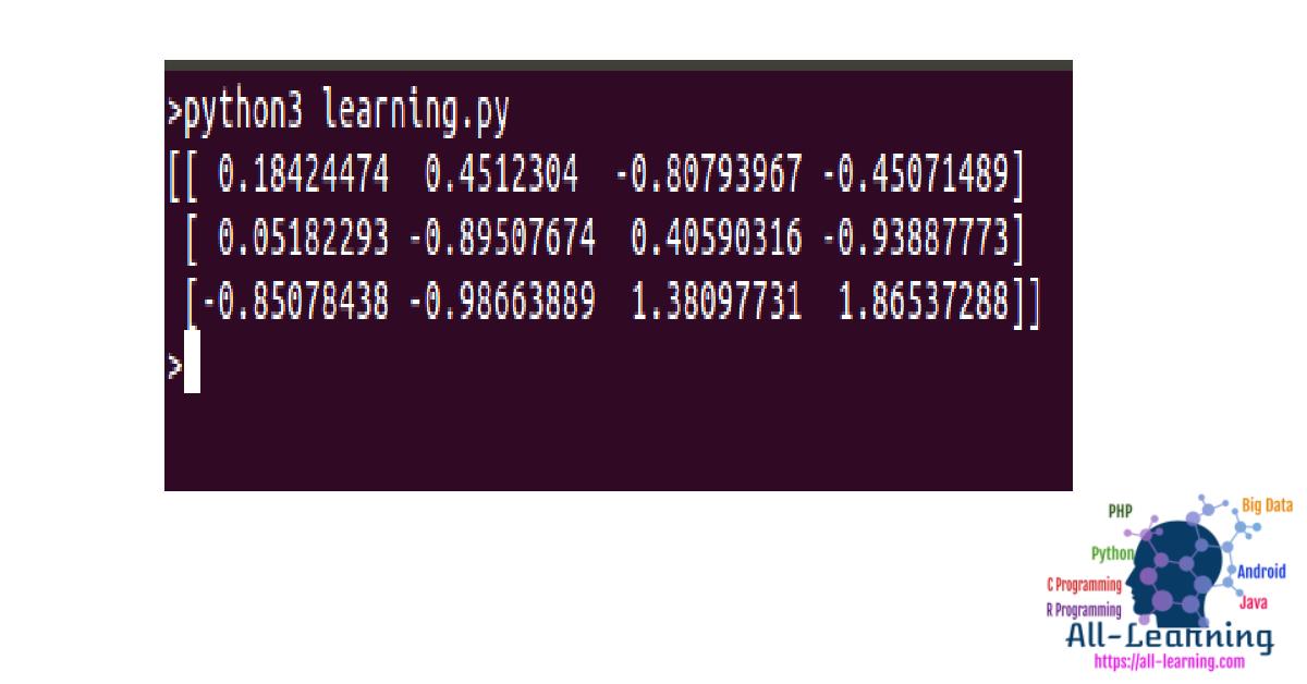 python-scikit linear regression