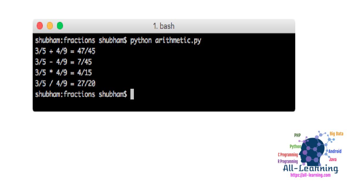python-fraction-arithmetic