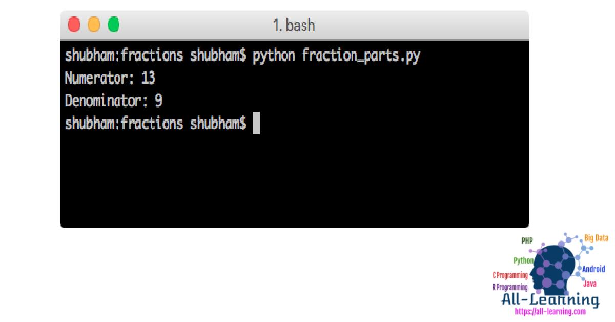 python-fraction-parts