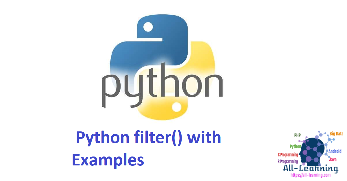 Python filter() with Examples