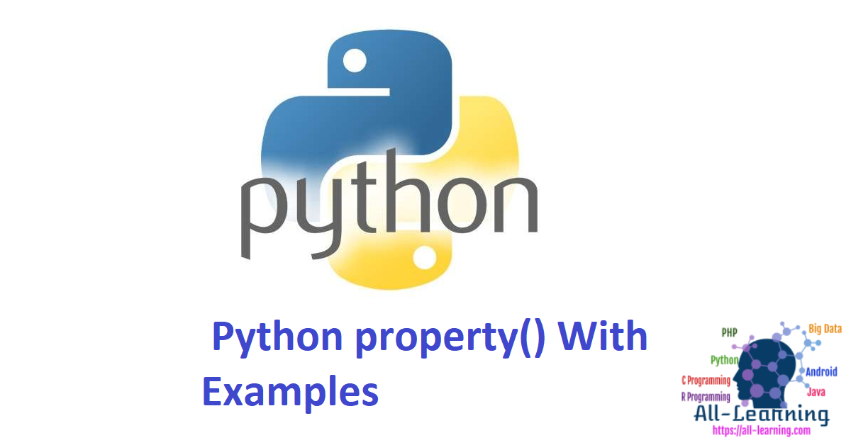 Python property() With Examples