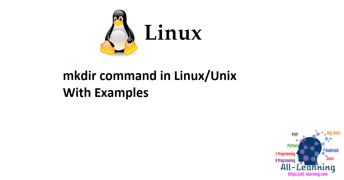 mkdir command in Linux/Unix With Examples
