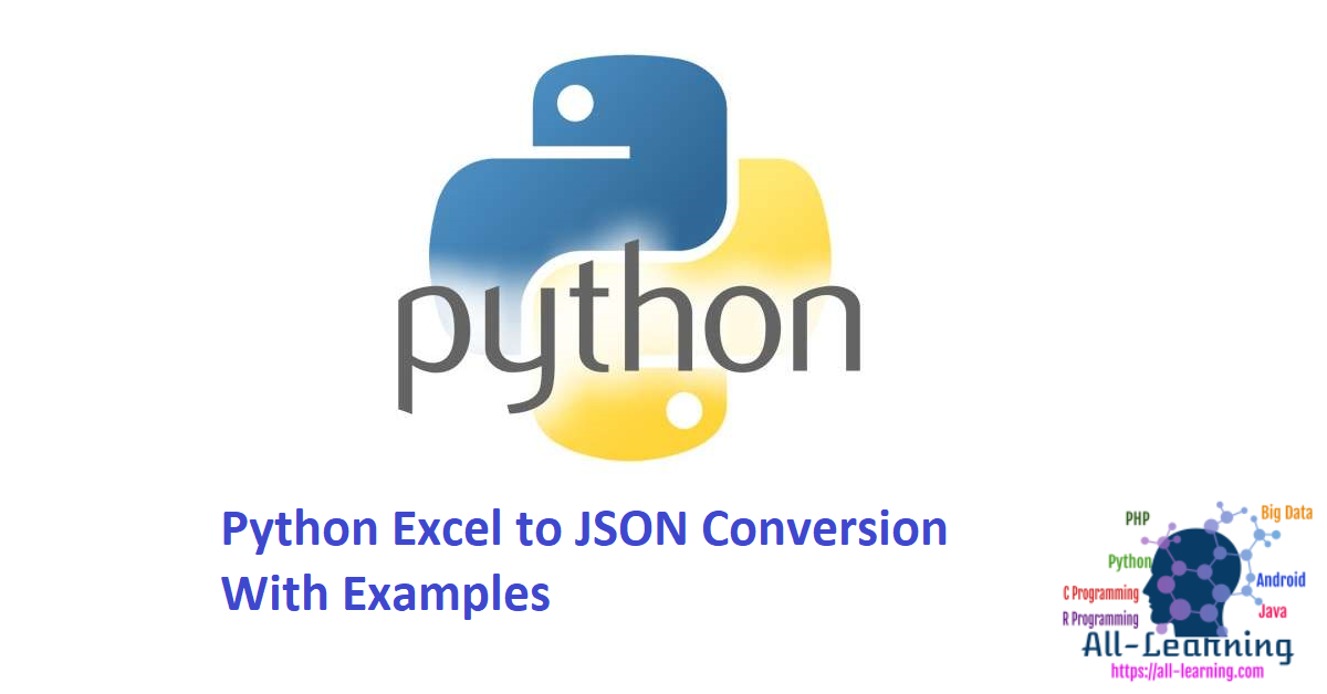 Python Excel to JSON Conversion With Examples