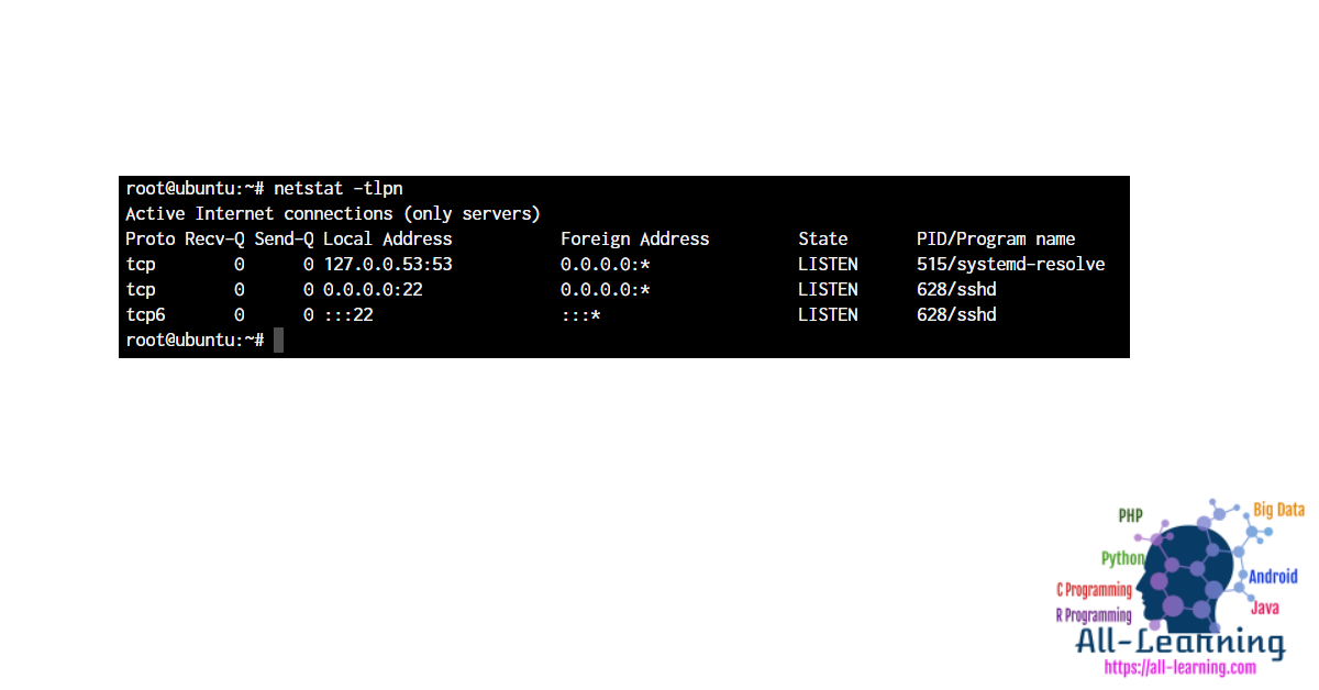 netstat-find-ssh-port