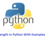 Find String Length in Python With Examples