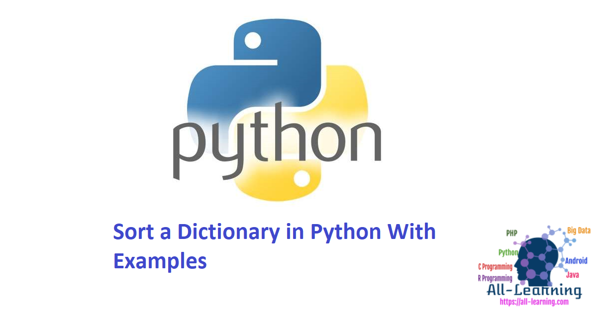 Sort a Dictionary in Python With Examples