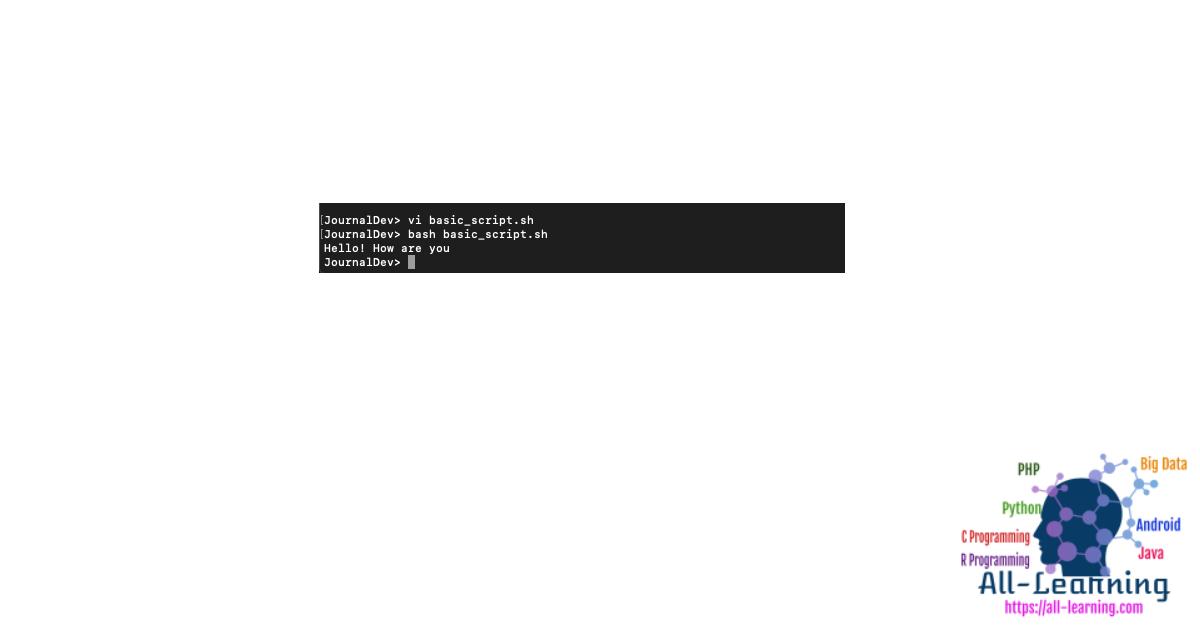 shell-script-in-vi