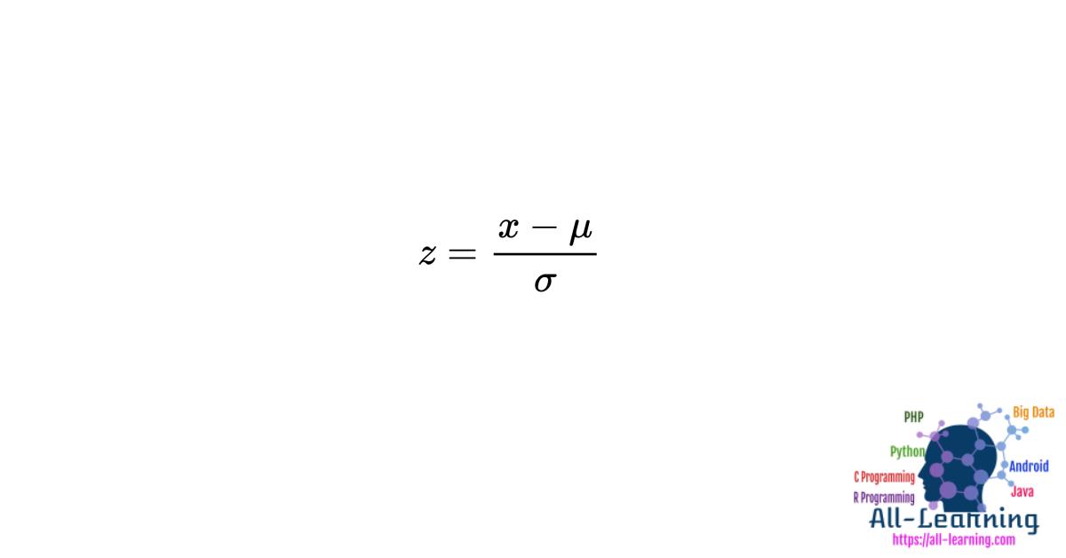 Standardization-Output