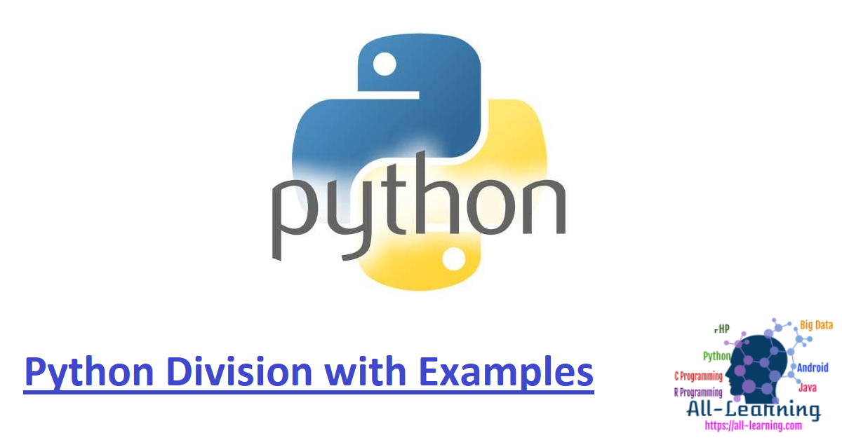 Python Division with Examples