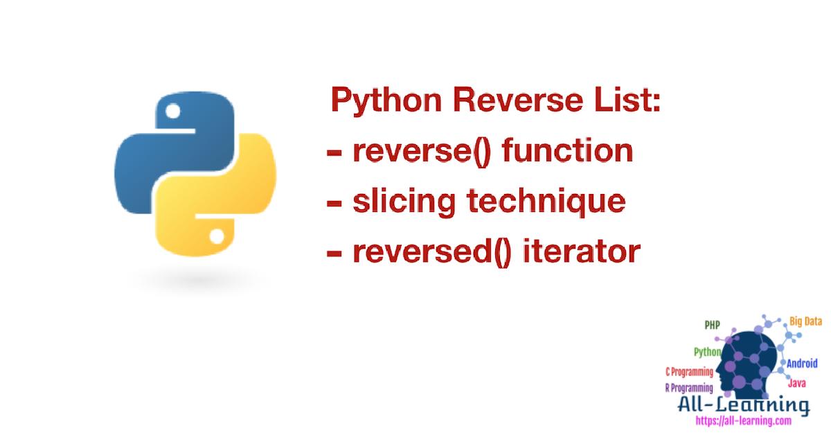 python reserve list